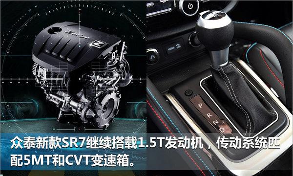 众泰汽车新SR7售价降低 预售6.98-11.18万元-图8