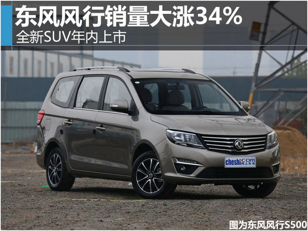 东风风行销量大涨34% 全新SUV年内上市-图1