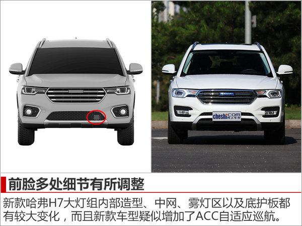 哈弗新款SUV-H7外觀大改 搭2.0T發動機-圖2