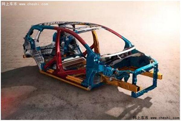 乐风rv采用高强度笼式车身安全结构,其中超高强度钢使用比例同级最高