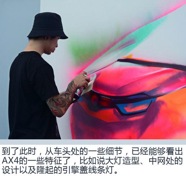 """微马涂鸦一起嗨 东风风神AX4""""夜猫""""狂欢之夜-图7"""