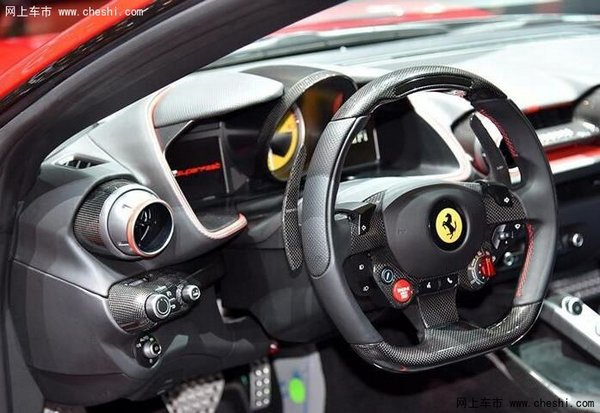 法拉利812国内首发 搭载6.5L V12发动机-图3