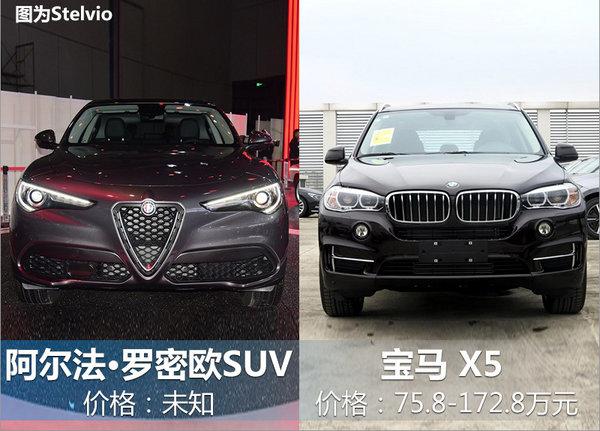 阿尔法•罗密欧全新大SUV将入华 竞争宝马X5-图7