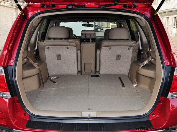 2015款丰田汉兰达座椅空间-丰田汉兰达价格配置 国产汉兰达优惠7万高清图片