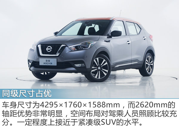 小型SUV新风潮 实拍东风日产劲客-图4