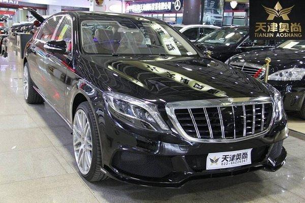 17款迈巴赫S600报价 巴博斯版豪车福利多-图1