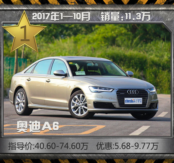 最热销10款豪华品牌轿车!10月最高优惠达7折-图4