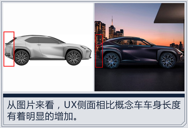 雷克萨斯UX将加长-明年入华 竞争奔驰GLA-图2