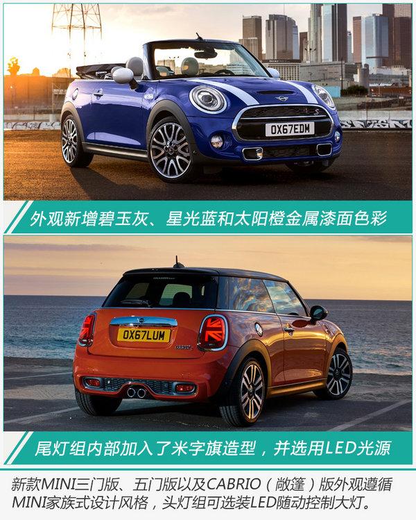 MINI 3款新车型即将上市 换搭7速双离合变速箱-图2