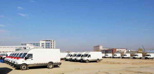 南京依维柯 103台新能源物流车圆满交付-图7