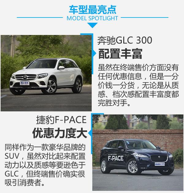 钱该怎么花? 奔驰GLC 300对比捷豹F-PACE-图6