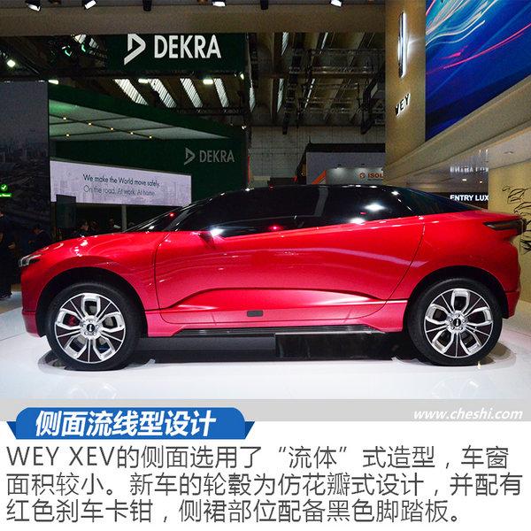 中国WEY首款电动概念车 XEV亮相法兰克福车展-图3