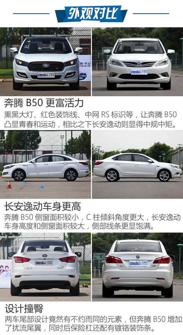 自主T动力家轿的抉择 奔腾B50对比逸动-图4