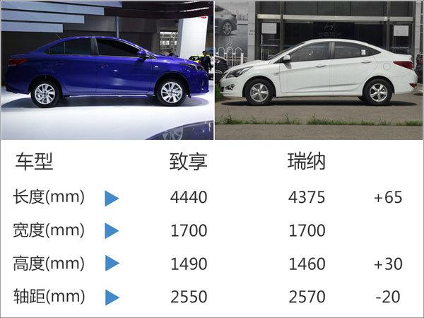 广汽丰田致享将上市 搭1.5L/尺寸超瑞纳-图3