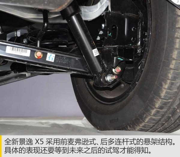 货真价实的全新车型 实拍全新景逸X5-图10
