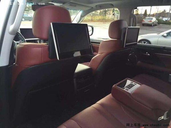 加版雷克萨斯LX570 16款凌志内购价席卷-图11