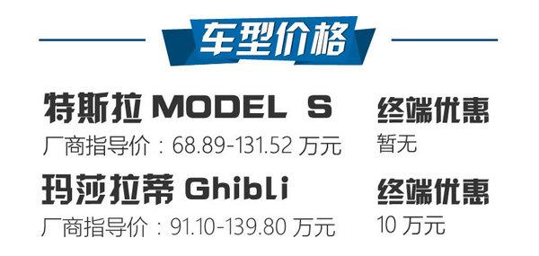 91万买5秒破百 MODEL S 100D对比Ghibli-图2