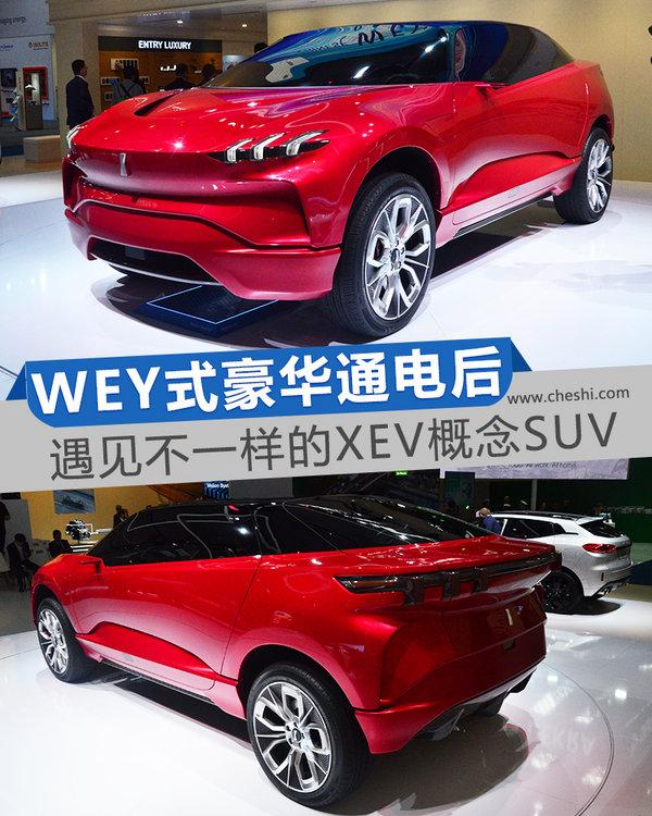 "WEY式""豪华""通电后 遇见不一样的XEV概念SUV-图1"
