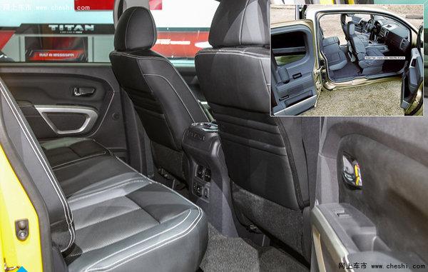 日产泰坦5.0L皮卡 顶级改装高能踏平路障-图10