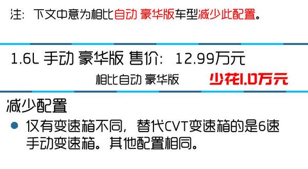 推荐MT/CVT豪华版 东风本田思域购买推荐-图8