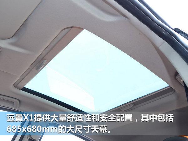 吉利小型SUV远景X1配置曝光 5月份上市-图1