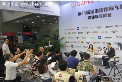 深港澳国际车展采访北京现代江君先生-图2