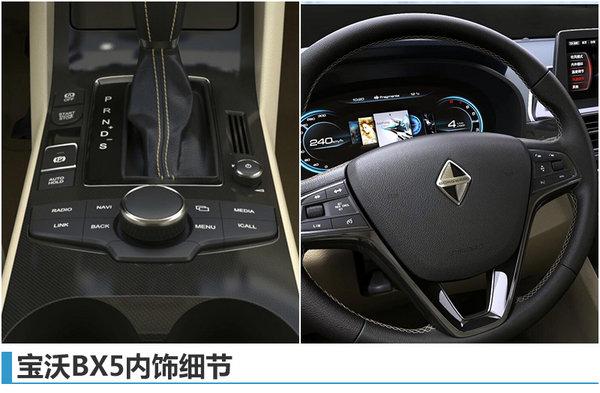 宝沃BX5最新官图曝光 内饰设计酷似宝马-图3
