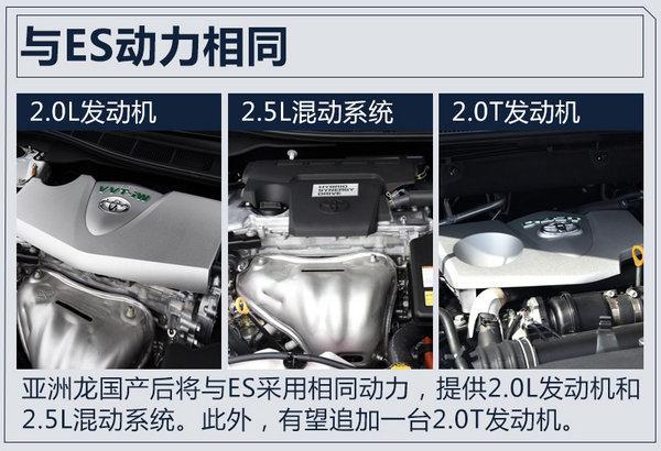 """亚洲龙""""换标""""雷克萨斯将国产 搭2.5L混动系统-图4"""