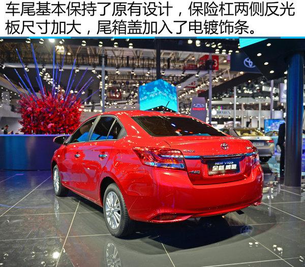 2016北京车展 一汽丰田新威驰静态实拍-图9