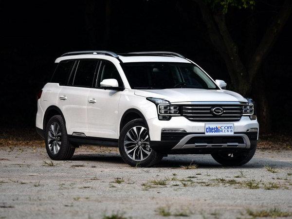 广汽传祺GS8售16.38万起降价竞争哈弗H7-图2