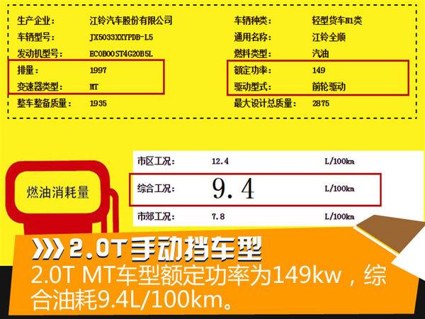 江铃新全顺推2.0T  预计2016下半年上市-图2