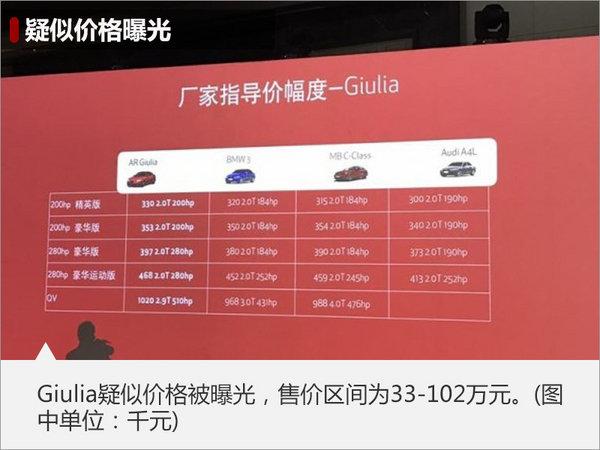 Giulia共享法拉利技术 百公里加速3.9秒-图1