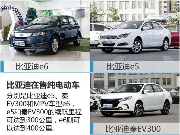 比亚迪推入门级纯电动车 售价进一步降低-图4