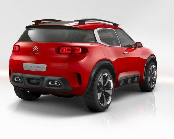 雪铁龙Aircross概念车曝光 上海车展首发_雪铁龙Cactus_进口新车-网上车市