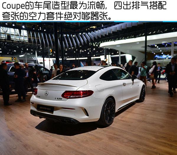 2016北京车展 奔驰AMG C63S Coupe实拍-图9