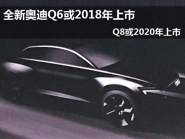 全新奥迪Q6或2018年上市 Q8或2020年上市高清图片