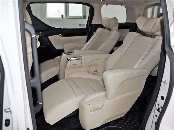 17款丰田埃尔法进口 欧版108万上牌联保-图6
