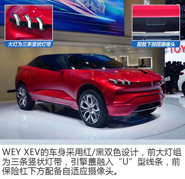 中国WEY首款电动概念车 XEV亮相法兰克福车展-图2
