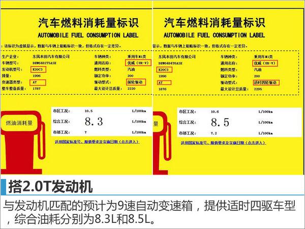 东本全新中型SUV命名优威 搭2.0T发动机-图2