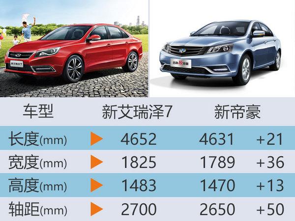 奇瑞新款A级车-官图曝光 预计7.3万起售-图5