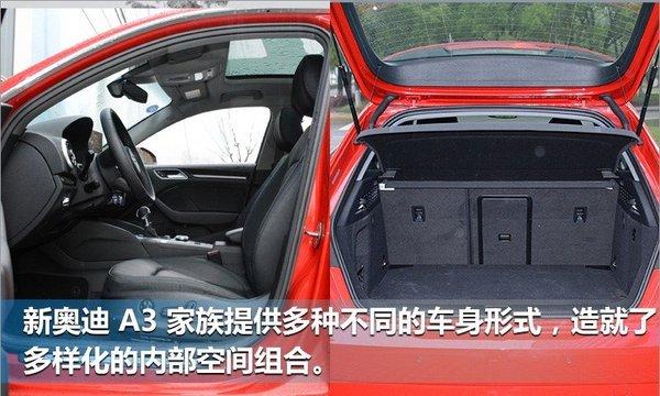 奥迪新A3家族正式上市 新增2.0T发动机-图8