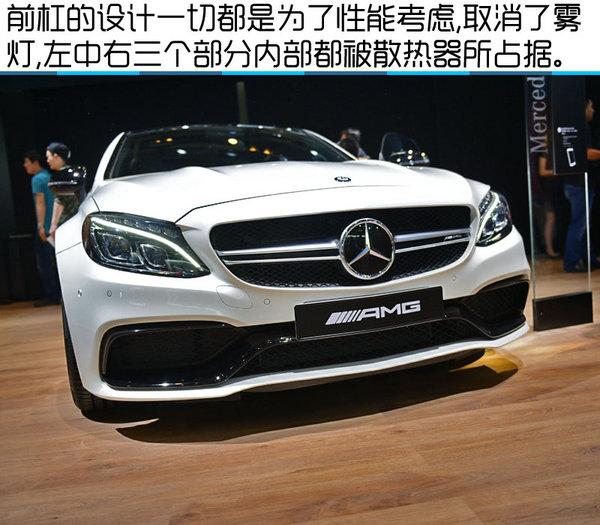 2016北京车展 奔驰AMG C63S Coupe实拍-图5