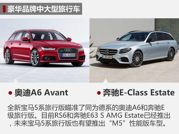 宝马全新5系旅行版实车曝光 3月7日首发-图5