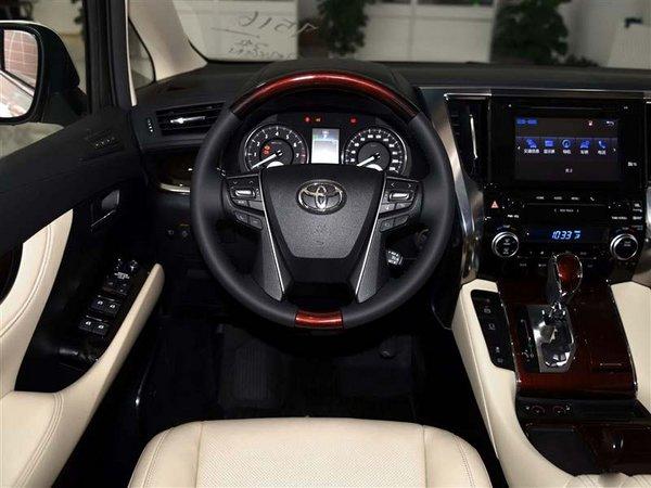 17款丰田埃尔法进口 欧版108万上牌联保-图4