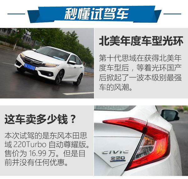 新一代神车诞生 本田思域220Turbo试驾-图2