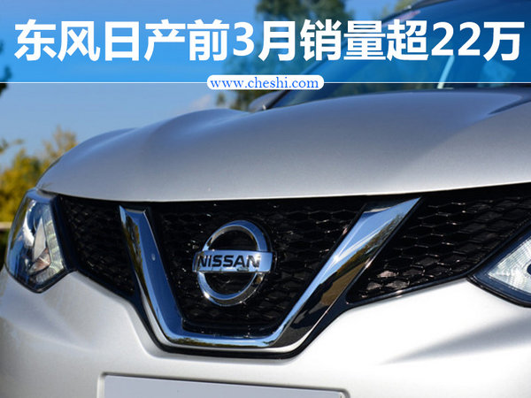 东风日产一季度销量超22万 推2款新SUV-图1