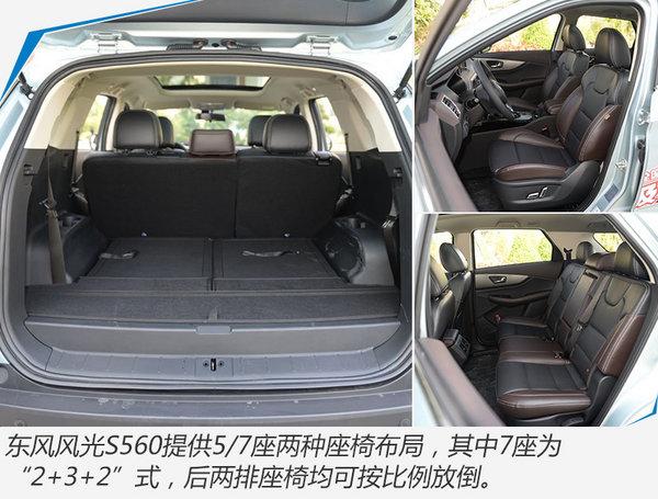 东风风光S560全新SUV正式上市 售XX-XX万元-图7