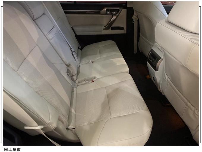 雷克萨斯新款GX进店实拍 搭4.6L/车尾酷似普拉多-图6