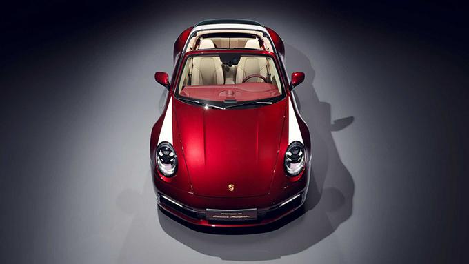 保时捷特别版911 Targa 限量992台/搭配纪念腕表-图2