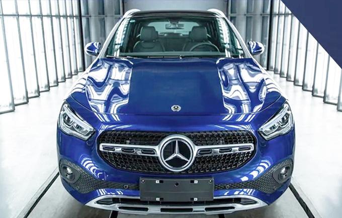 奔驰全新GLA投产下线 8月份上市 26万元起售-图1
